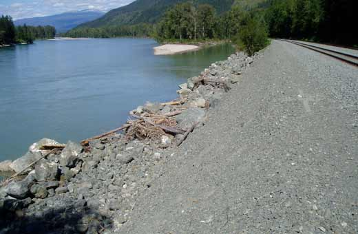 Environmental Impact Assessment - Train Tracks Beside Lake